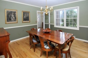Dining Room After Home Staging Consultation