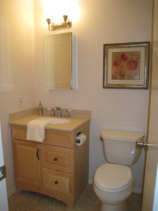 Bathroom After Vacant Home Staging