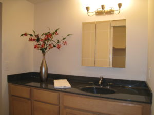 Dressing Area After Vacant Home Staging