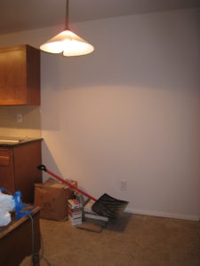 Kitchen Before Vacant Home Staging