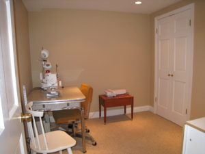 Sewing Room After Home Staging