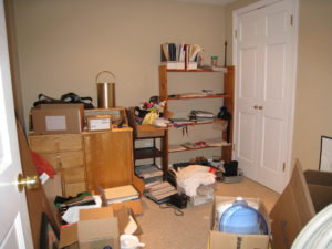 Sewing Room Before Home Staging