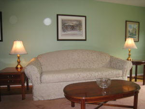 Living Room Couch After Home Staging