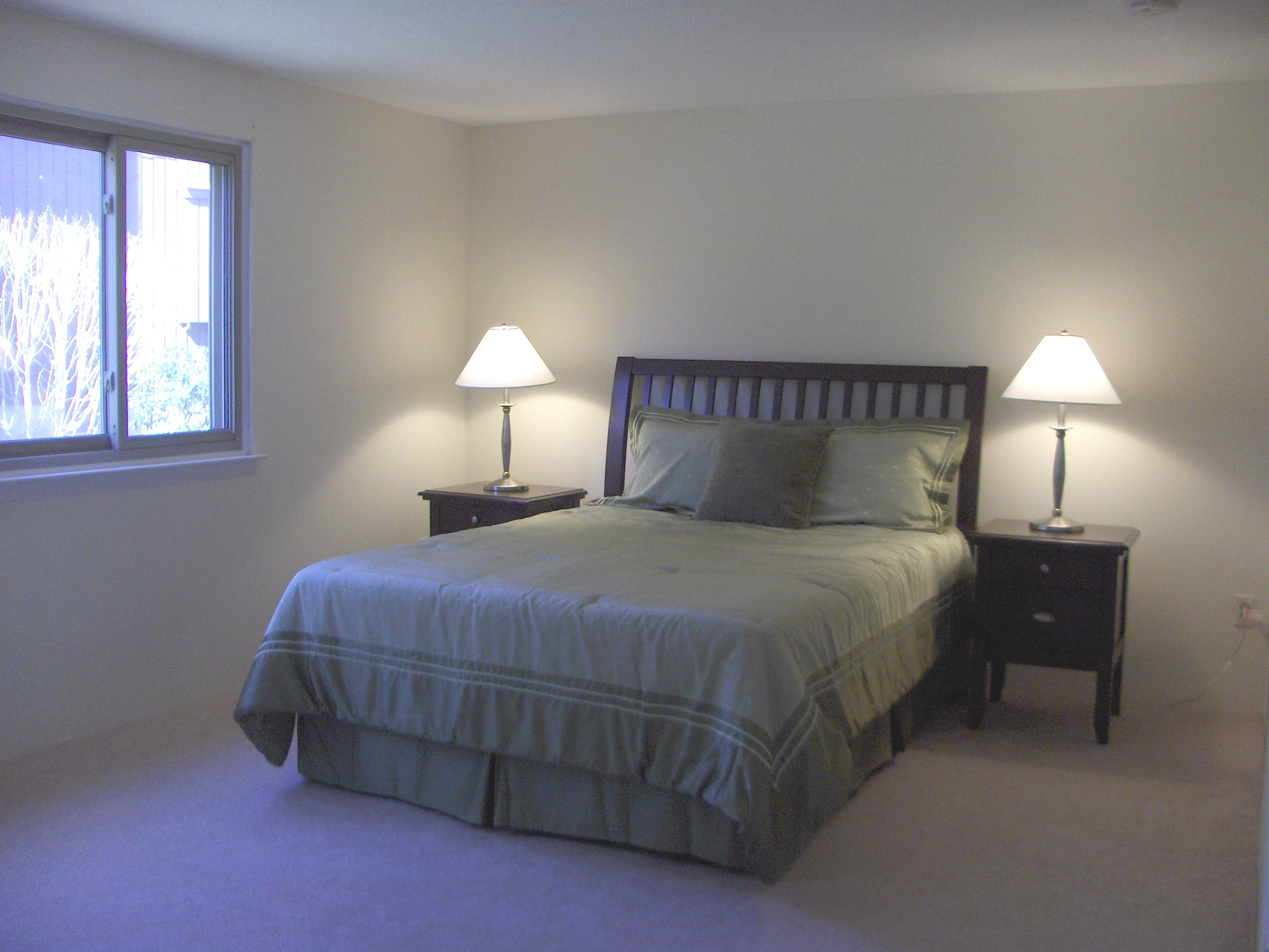 Home staging proof that staged homes sell faster atwell staged home Master bedroom home staging