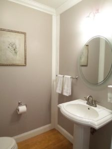 Powder Room After Home Staging
