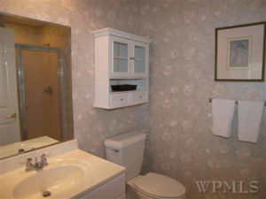Bathroom After Budget Home Staging Consultation