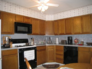 Kitchen Before Interior Decorating Makeover