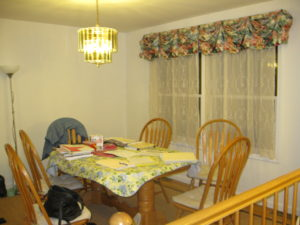 Home Staging Success - Dining Room Before Home Staging