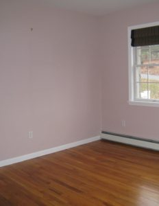 Staged Homes Sell Faster - vacant bedroom before staging