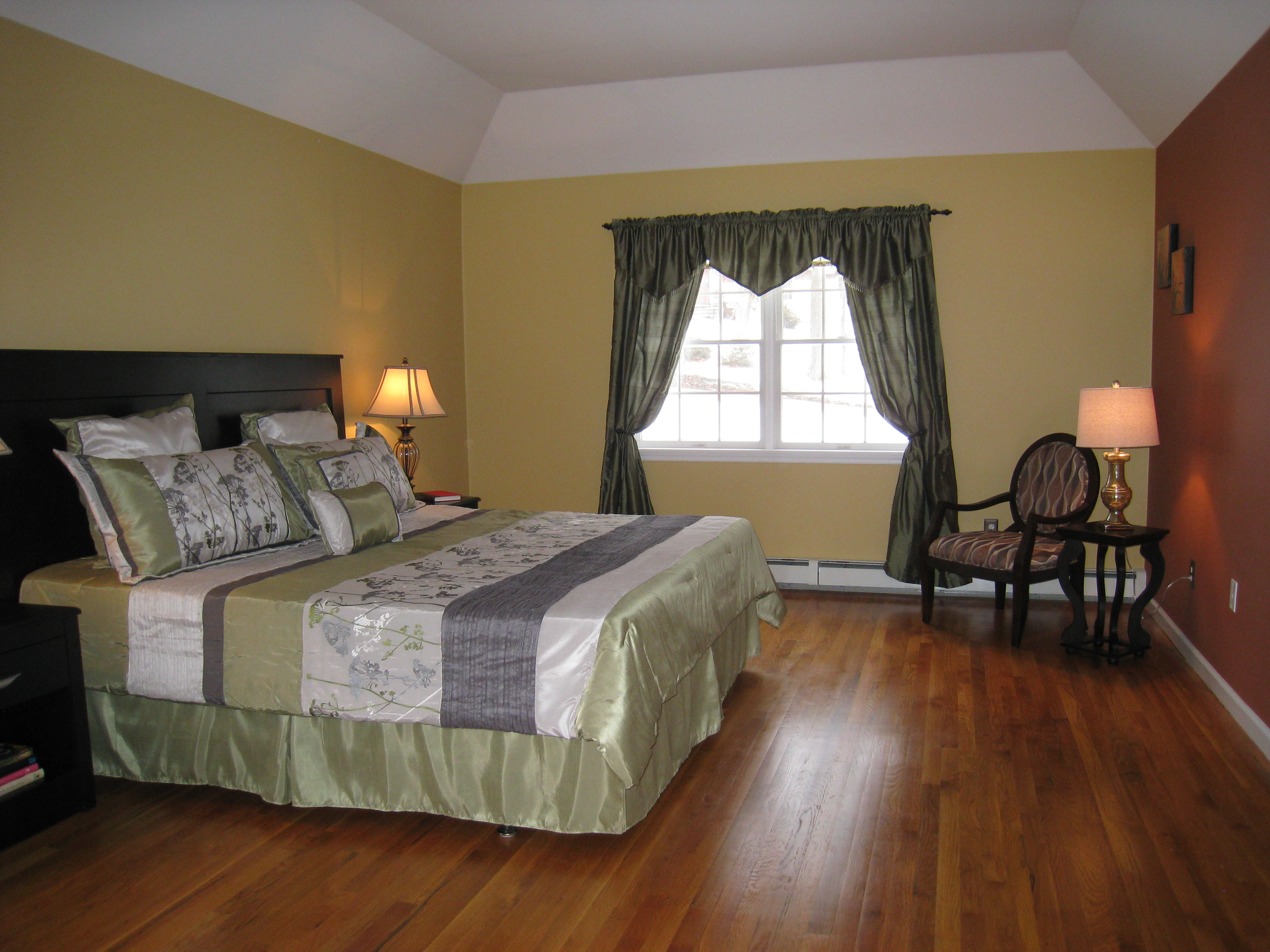A little home staging goes a long way atwell staged home for Staging master bedroom