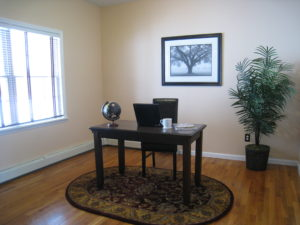 Office after staging