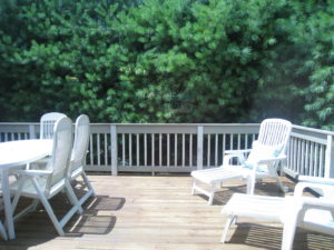 Deck After Home Staging