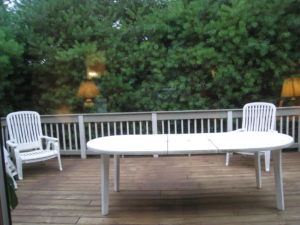 Deck Before Home Staging