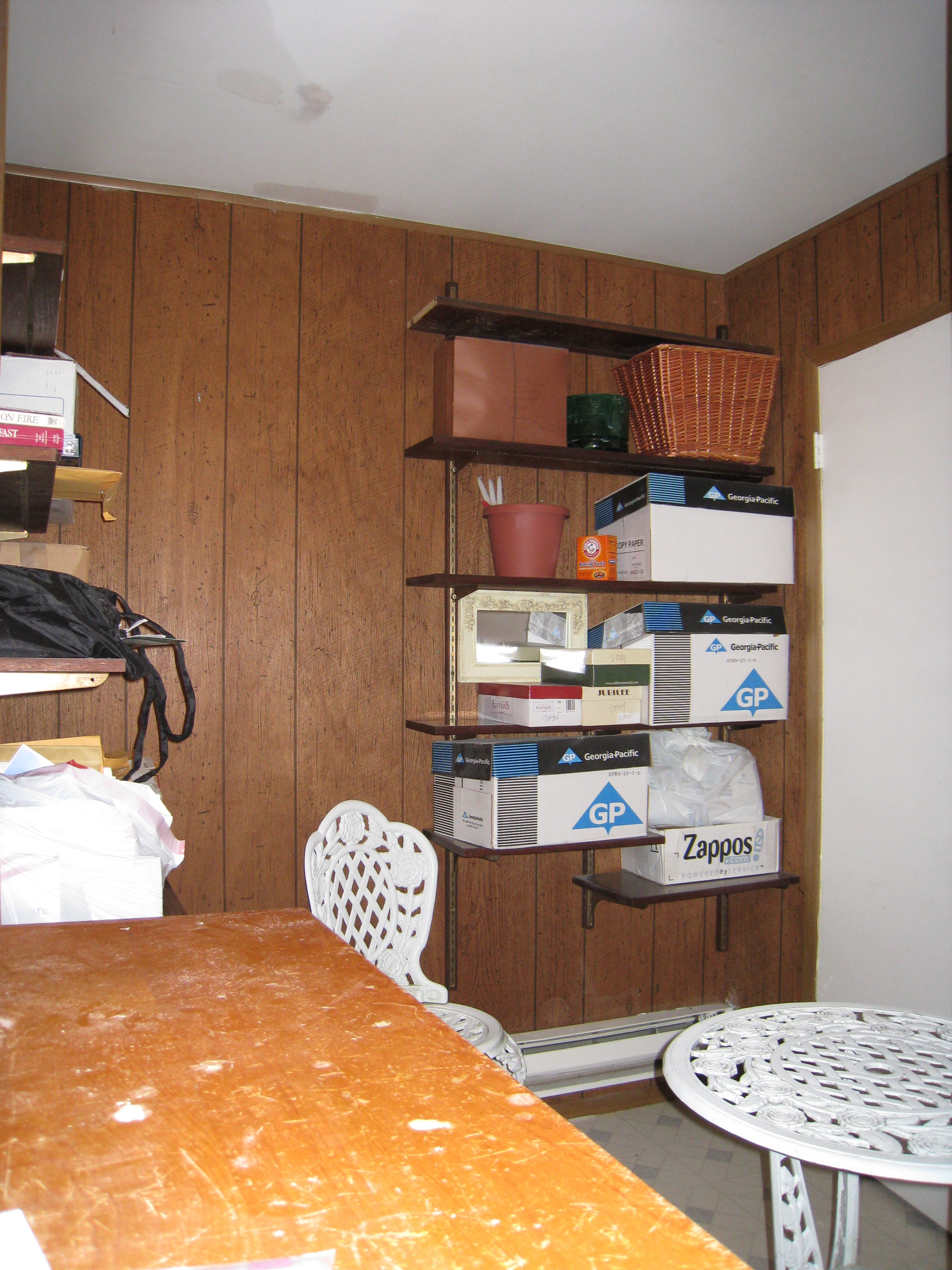 Home Office Before Home Staging