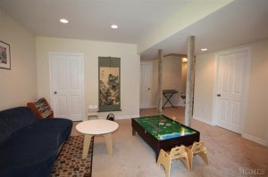 free home staging consultation - basement after home staging