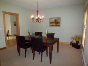 Vacant Home Staging - Dining Room After