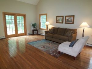 Vacant Home Staging - Family Room After