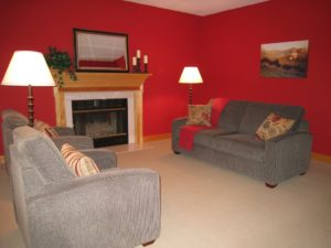 Vacant Home Staging - Living Room After