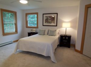 Vacant Home Staging - Master Bedroom After