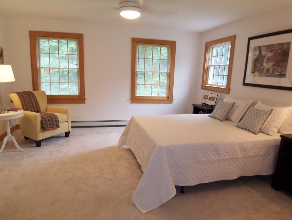 Vacant home staging atwell staged homeatwell staged home Master bedroom home staging