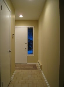 Entry After Home Staging