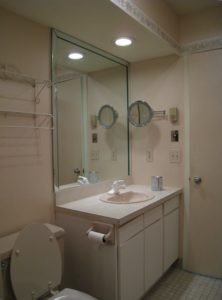Hall Bath Before Home Staging