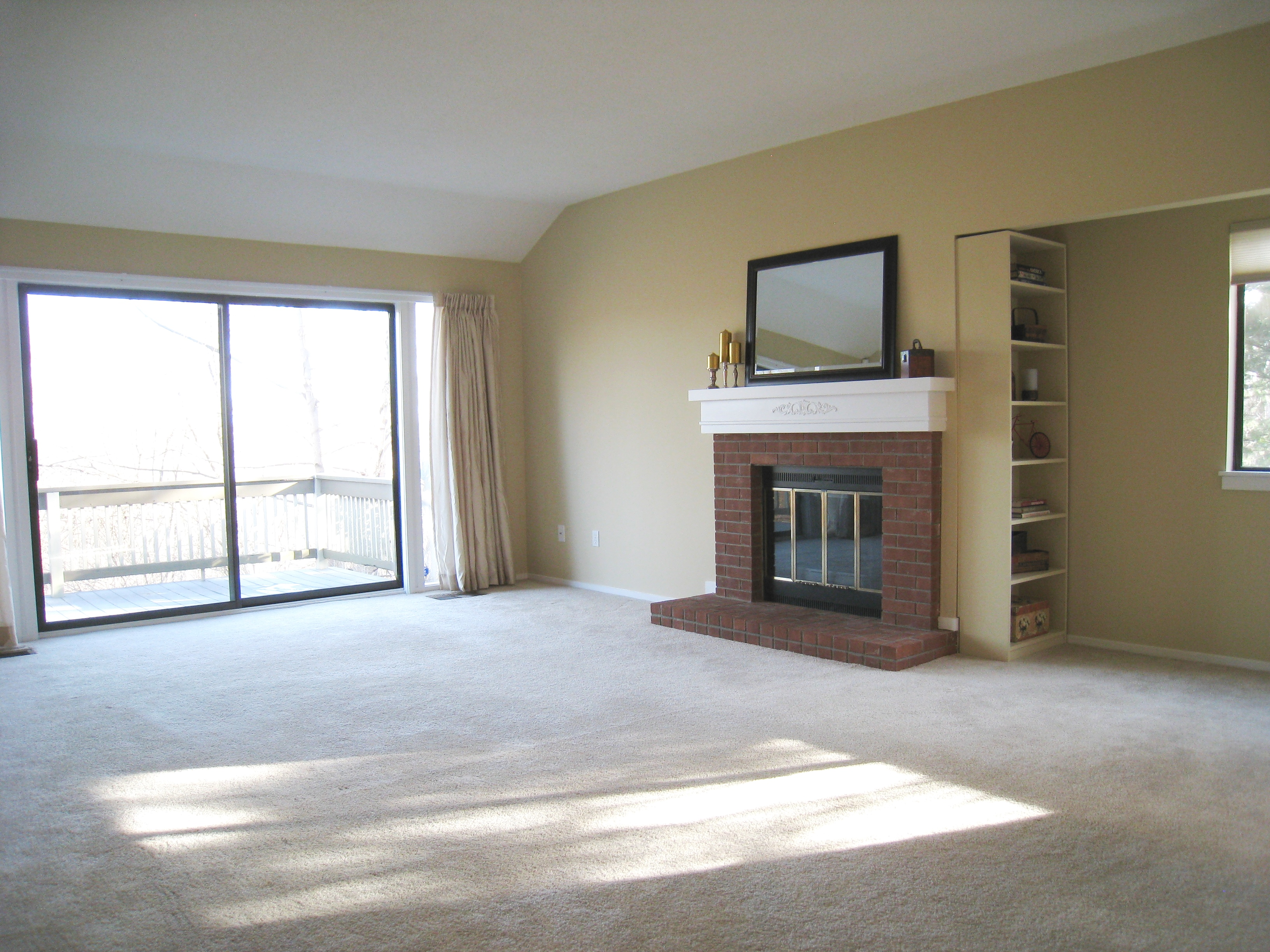 Living Room Staging Home Staging From Rehab To Rental Atwell Staged Home