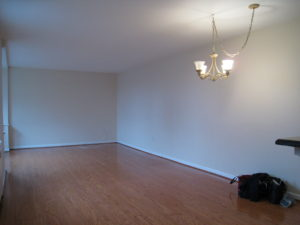 Living/Dining Room Before - Home Staging Cortlandt Manor