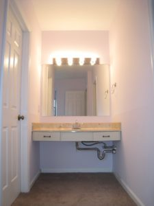 Dressing Area Before - Home Staging Cortlandt Manor
