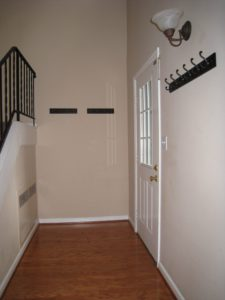 Entry Before - Home Staging Cortlandt Manor
