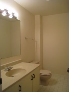 Powder Room Before - Home Staging Cortlandt Manor