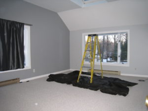 Home staging believer's Bonus Room before home staging