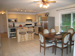 Home staging believer's Kitchen/Dining Room after home staging