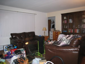 Home staging believer's Living Room before home staging