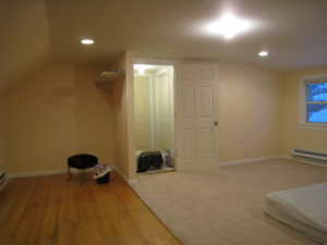 Home staging believer's master bedroom before home staging