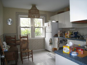 Kitchen Before AtWell Staged Home