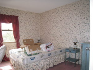 Master Bedroom Before AtWell Staged Home