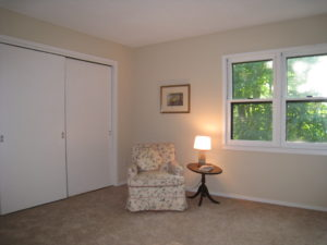 Master Bedroom After AtWell Staged Home