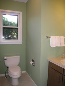 Powder Room After AtWell Staged Home