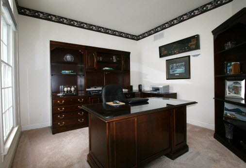 Staged Real Estate   Home Office After Home Staging